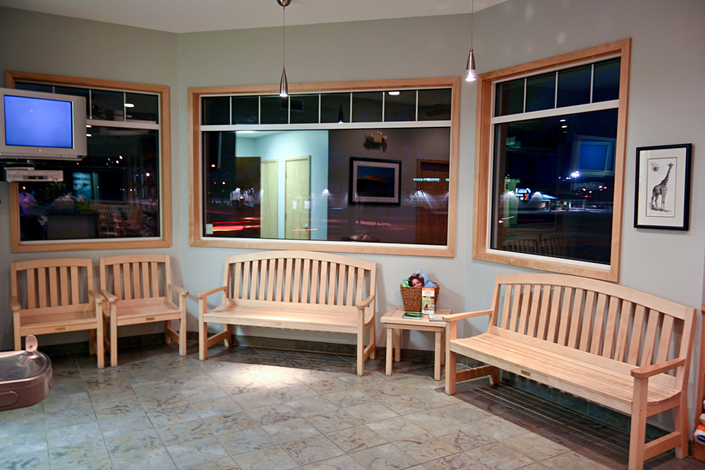 Ankeny Vet Clinic Waiting Benches