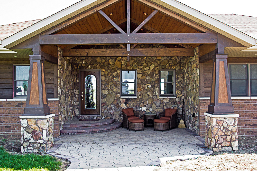rustic custom main exterior view