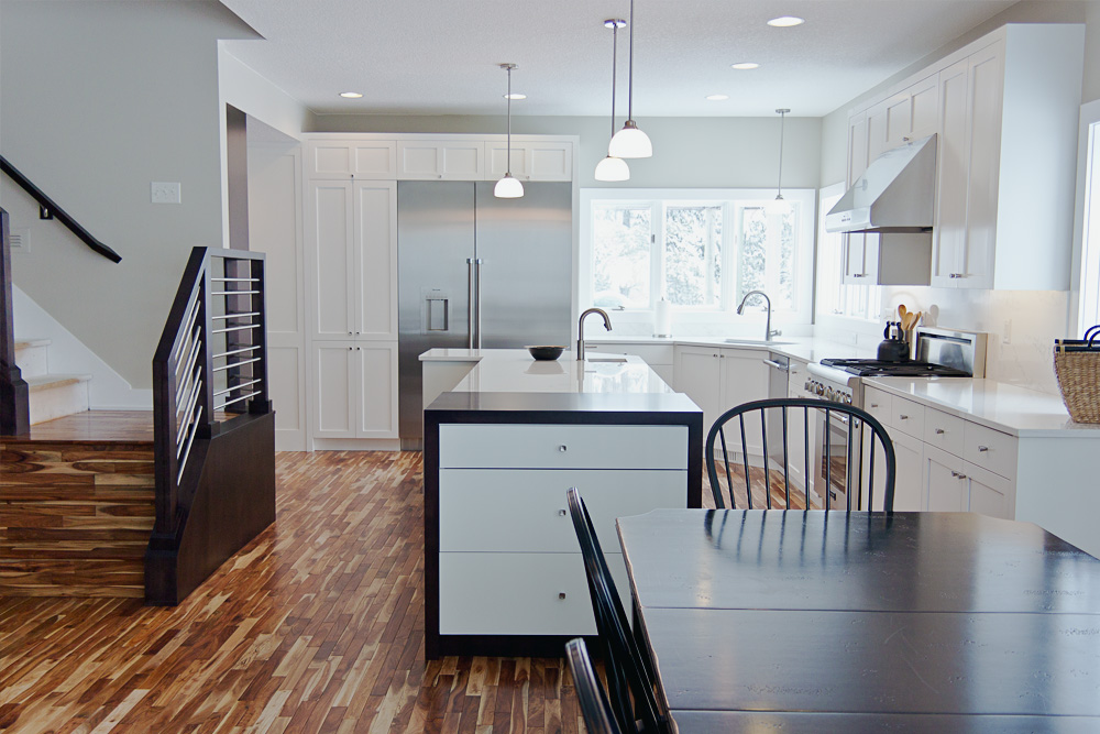 Contemporary Open Kitchen View