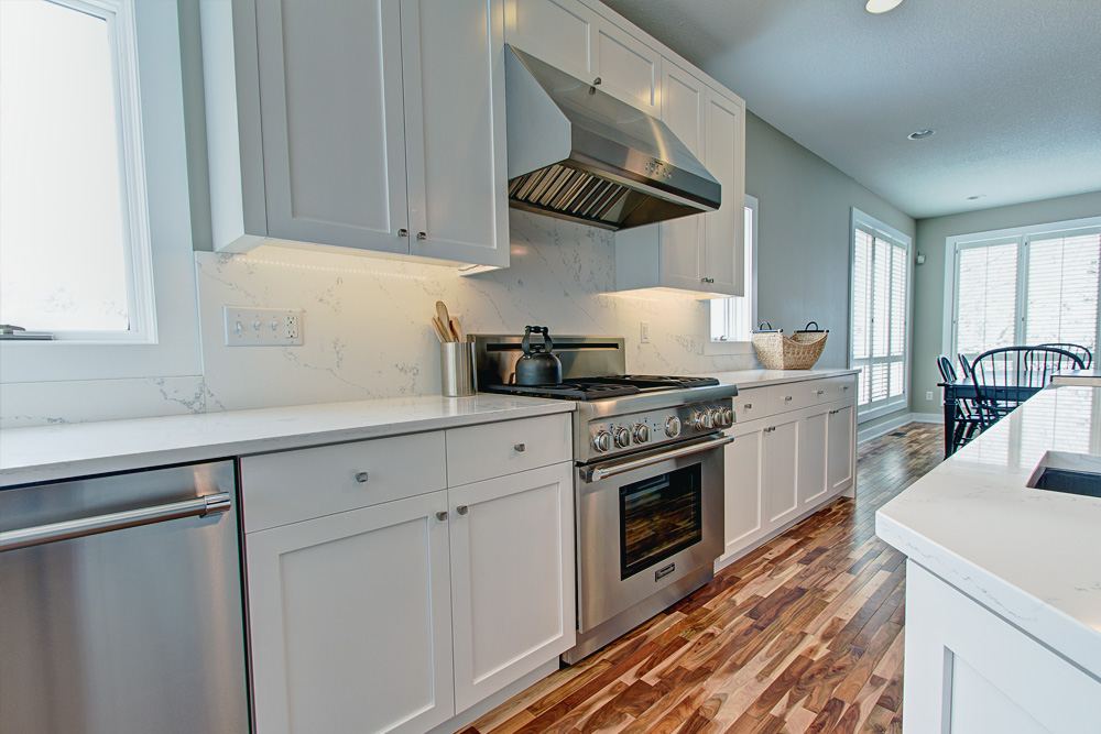 Contemporary Kitchen Oven View