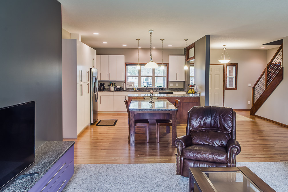Waukee Custom Home Kitchen Overview